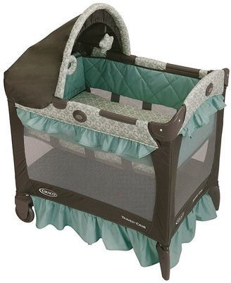 Graco travel lite playard with bassinet - winslet