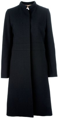 Chloé stand-up collar coat