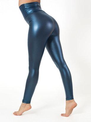 American Apparel Shiny High-Waist Legging