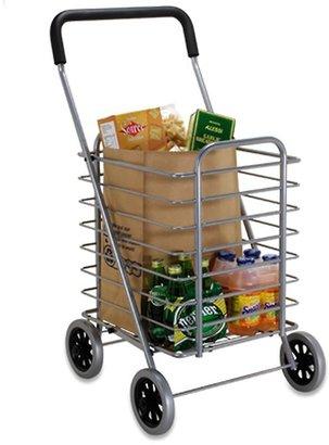 Container Store Shopping Cart Aluminum