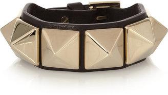 Valentino Va Va Voom studded leather bracelet