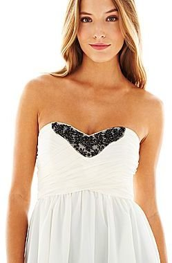 Marchesa Pearl by Georgina Chapman of Lace-Inset Top