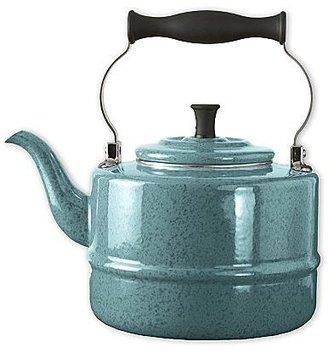 Paula Deen Porcelain Enamel Tea Kettle Blue