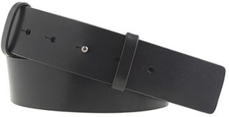 J.Crew Vachetta leather stud-post belt