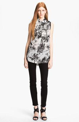 Rachel Zoe 'Geri II' Print Silk Shirt