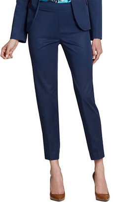 Jones New York Cropped Runway Slim Pant