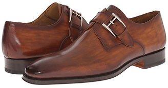 Magnanni Marco (Black) Men's Plain Toe Shoes