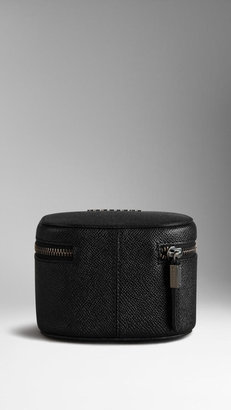Burberry London Leather Travel Ziparound Pouch