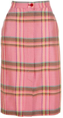 Missoni Vintage Check skirt