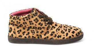 Toms Leopard youth botas