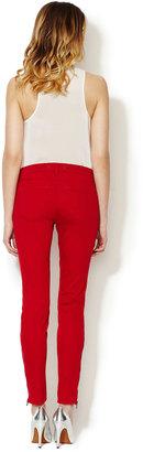 J Brand Mid Rise Zipper Skinny Jean
