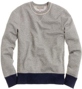 J.Crew Wallace & Barnes Sinclair sweatshirt