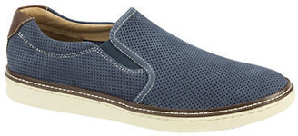 Johnston & Murphy Mcguffey Perforated Leather Slip-On Shoes