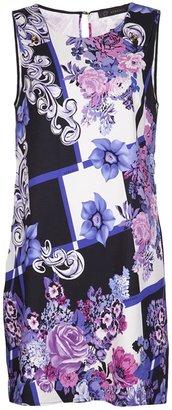 Versace woven shift dress