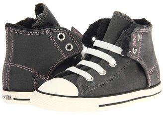 Converse Chuck Taylor All Star Easy Slip Hi (Infant/Toddler) (Charcoal/Egret) - Footwear