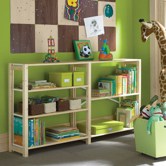 Container Store Skandia Playroom Shelving