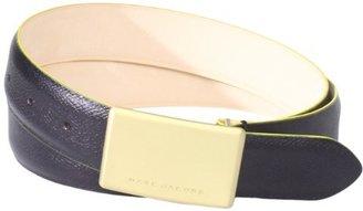 Marc Jacobs Men's Plaque Buckle Belt