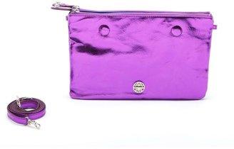 Jessica Simpson Double Take Reversible Purple Cobalt