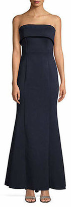 Eliza J Classic Strapless Gown
