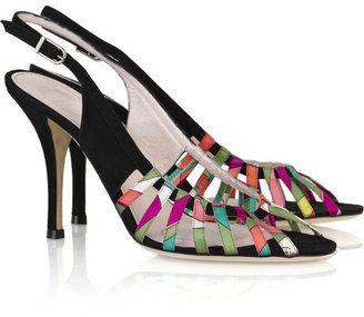 Emilio Pucci Gene suede sandals