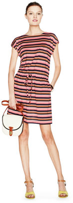Fossil Carrie Tie Waist Striped Dress http://www.fossil.com/product/WC8482 $78.00