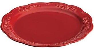 Paula Deen 14-in. Spiceberry Round Platter, Red