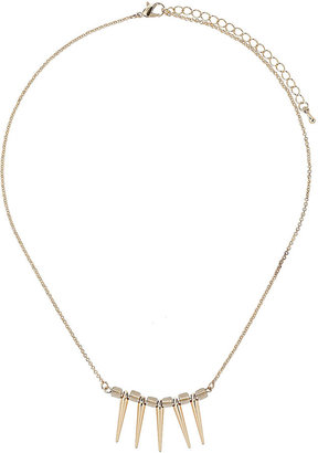 Topshop Mini Spike Necklace