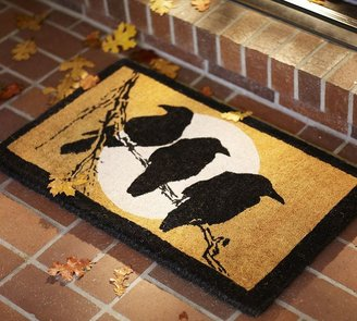 Pottery Barn Crow & Moon Door Mat