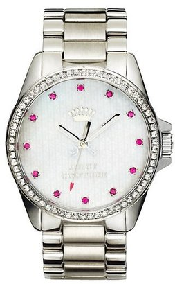 Juicy Couture Stella Silver Watch