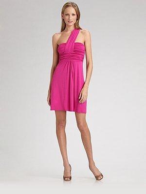 Ella Moss Asymmetrical One-Shoulder Dress