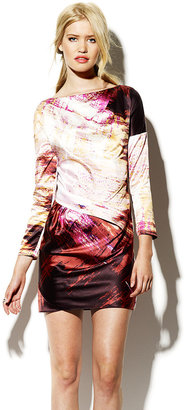 Vince Camuto Sunset Printed Dress