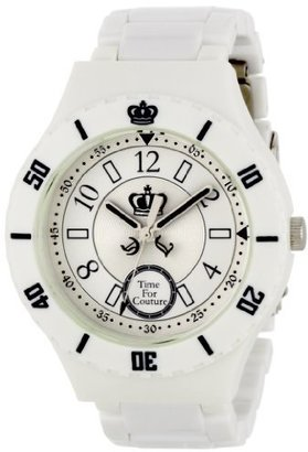 Juicy Couture Women's 1900811 Taylor White Plastic Bracelet Watch $99.99 thestylecure.com