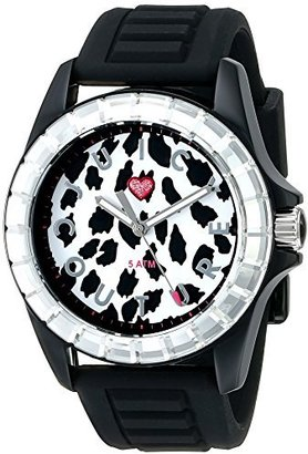 Juicy Couture Women's 1901160 Juicy Sport Analog Display Quartz Black Watch $67.35 thestylecure.com
