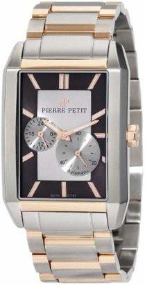 Pierre Petit Men's P-782D Serie Paris Automatic Rectangular Two-Tone Stainless-Steel Bracelet Watch