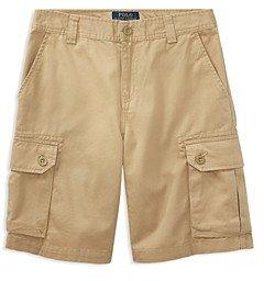 Ralph Lauren Polo Boys' Basic Gellar Cargo Shorts - Big Kid