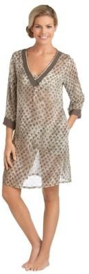 Vince Camuto Chain Tunic Swim Cover-Up