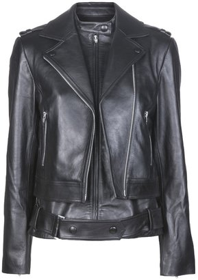 Alexander Wang double layered moto jacket