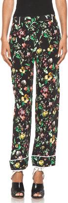 3.1 Phillip Lim Faded Botanical Pajama Pant in Black