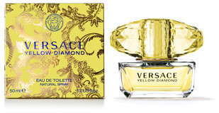 Versace Yellow Diamond Eau de Toilette, 3.0 oz.
