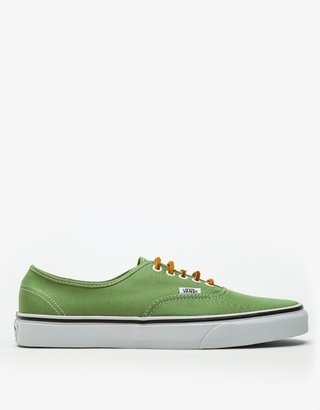 Vans Green Brushed Twill Authentic
