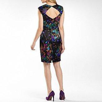 JCPenney Sweetheart Neckline Dress - Petite