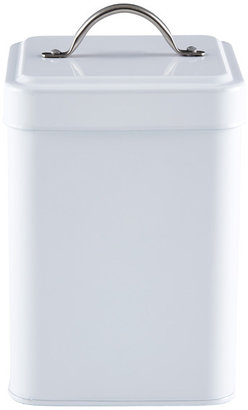 Container Store Tea Canister White