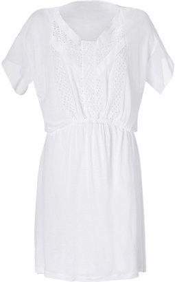 Vanessa Bruno White Eyelet Dress