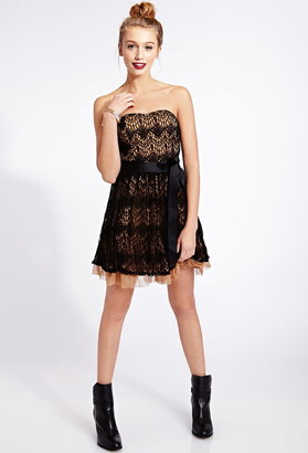 Forever 21 Enchanted Lace Cocktail Dress