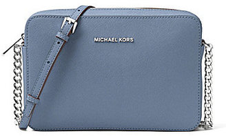 MICHAEL Michael Kors Jet Set Travel Large Chain Strap Cross-Body Bag $148 thestylecure.com