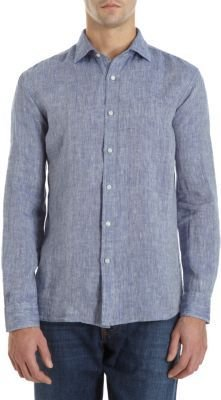Etro Washed Linen Shirt