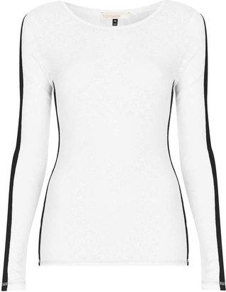 Topshop Sno long sleeve thermal top