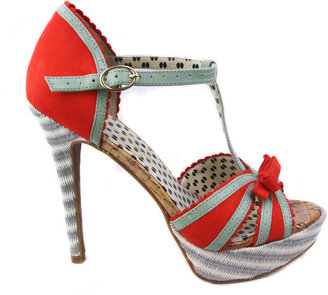 Jessica Simpson Britt Tomato Red High Heels