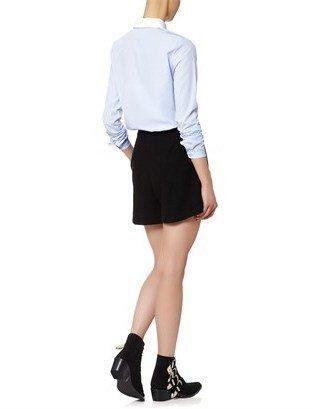 Carven Blue Cotton Oxford Shirt
