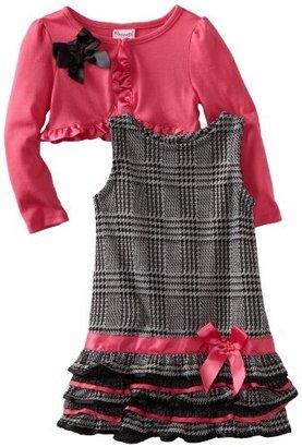Nannette Girls 2-6x Ruffle Dress With...